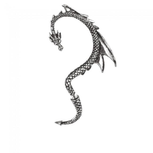 Alchemy Gothic-Dragons Lure Left Ear Frame