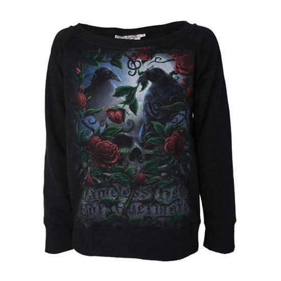 Darkside Clothing-Nevermore Raven Jumper