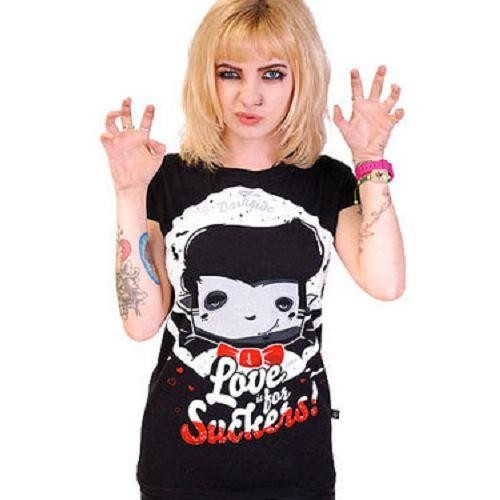 Darkside Clothing-Love Is For Suckers T-shirt