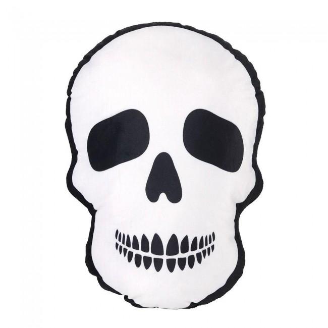 Phoenixx Rising-Skull Polyester Cushion