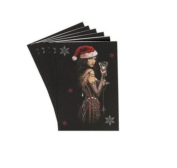 Alchemy Gothic-Gothic Lady Christmas Gift Tags