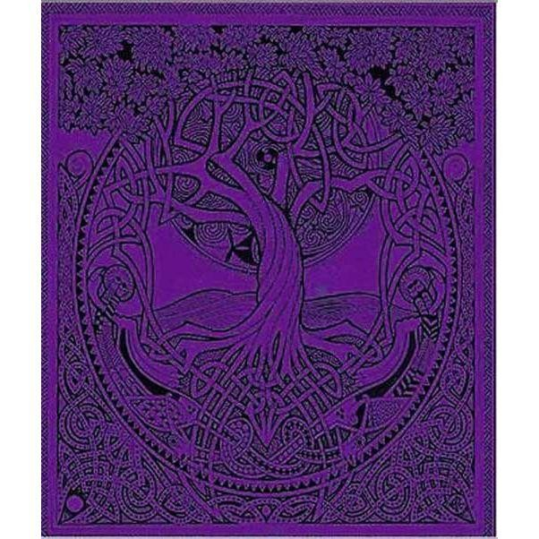 Cleo Gifts-Tree Of Life Double Bedspread
