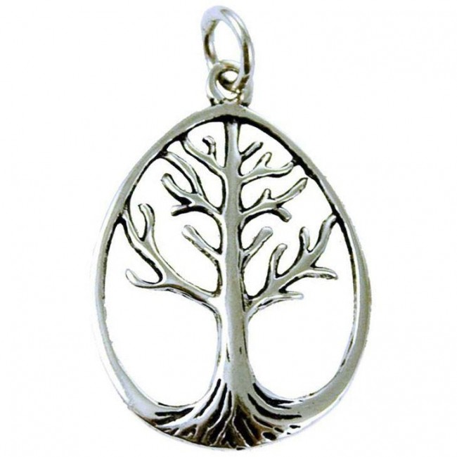 Phoenixx Rising-Silver Tree Of Life Pendant