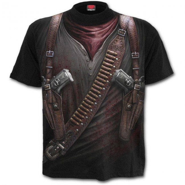Spiral Direct-Holster Wrap T-shirt