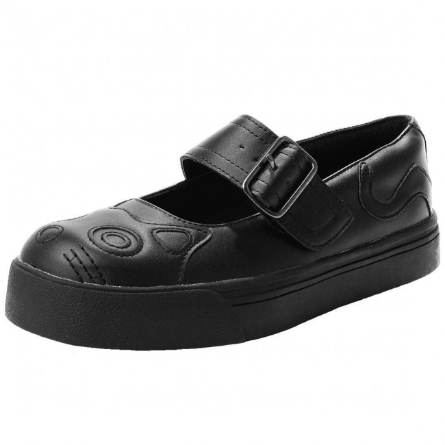 T.U.K. Footwear-Kitty Mary Jane Sneakers