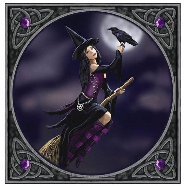 Lisa Parker-Witch And Raven Card