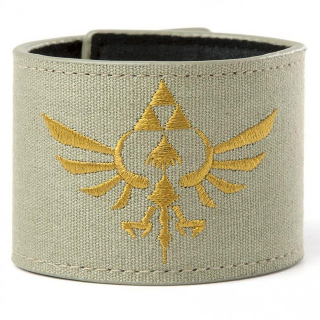 Nintendo-Legend Of Zelda Crest Wristband