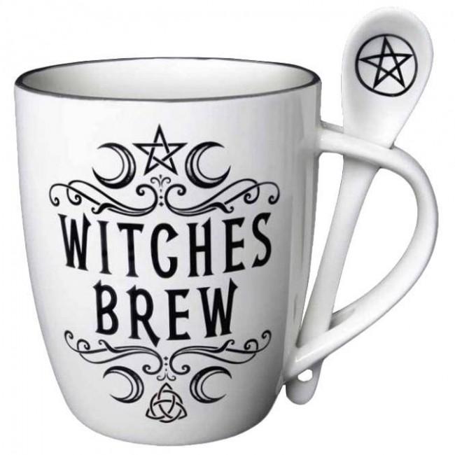 Alchemy Gothic-Witches Brew Mug Set