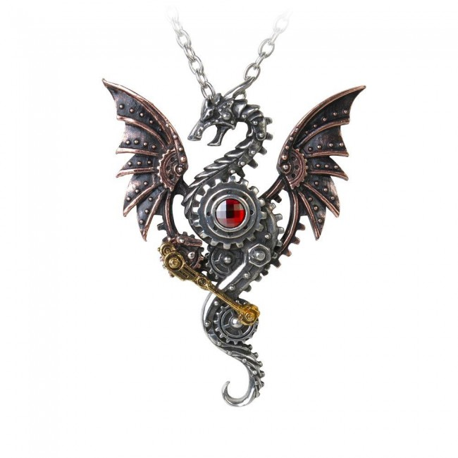 Alchemy Gothic-Blast Furnace Behemoth Pendant
