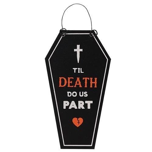 Phoenixx Rising-Til Death Do Us Part Spooky Mini Sign