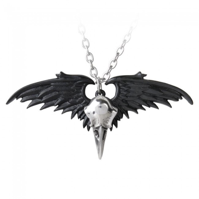 Alchemy Gothic-Ravenger Pendant