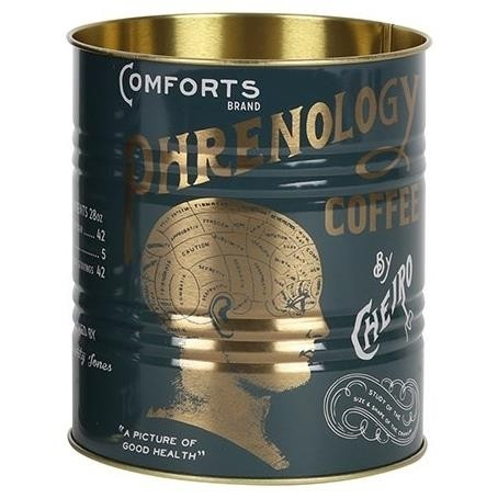 Something Different-Phrenology Coffee Storage Tin