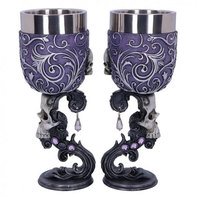 Nemesis Now-Deaths Desire Twin Goblet Set