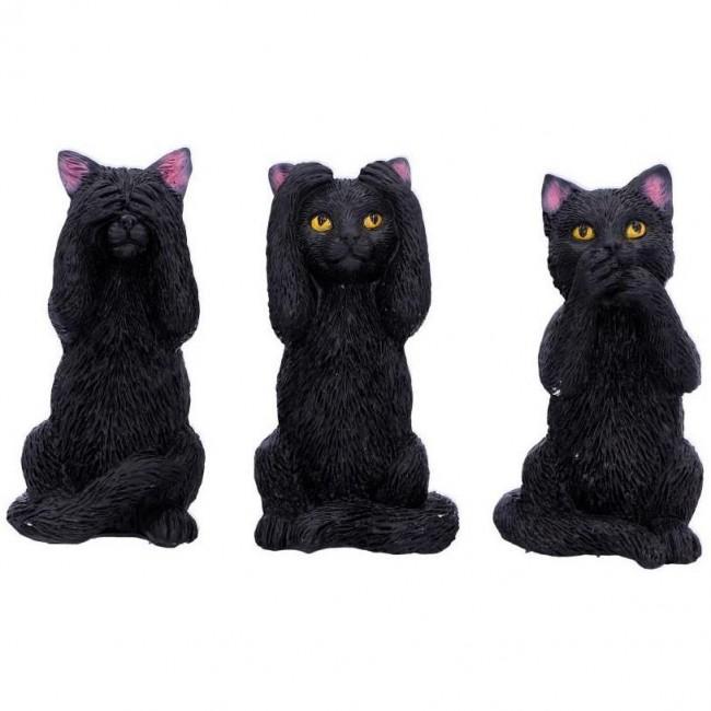Nemesis Now-Three Wise Felines