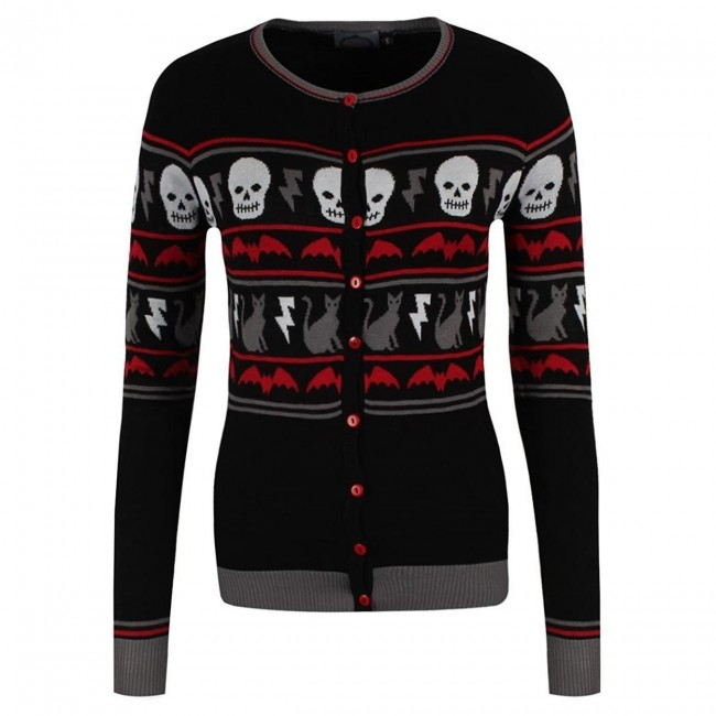 Banned Apparel-All Hallows Cardigan