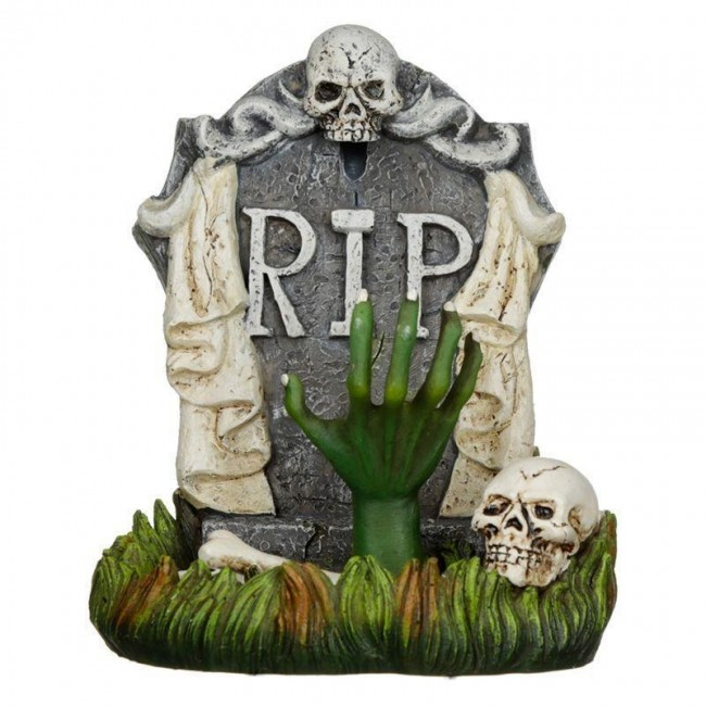 Phoenixx Rising-Zombie Tombstone Backflow Incense Burner