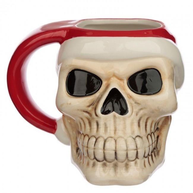 Phoenixx Rising-Santa Skull Mug