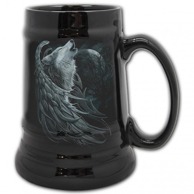 Spiral Direct-Wolf Spirit Beer Stein