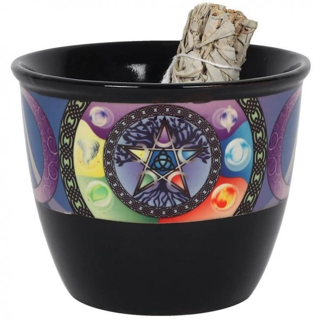 Something Different-Pentacle Smudge Bowl