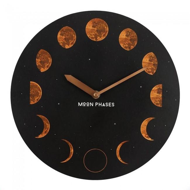 Phoenixx Rising-Moon Phases Clock