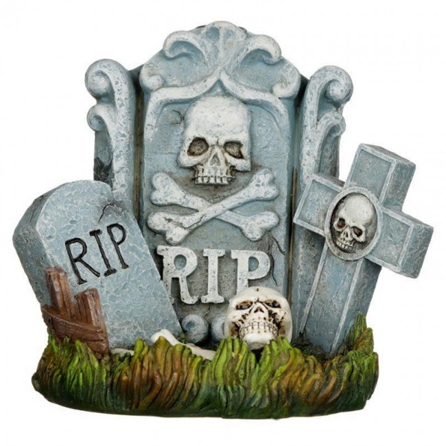 Phoenixx Rising-RIP Tombstone Backflow Incense Burner