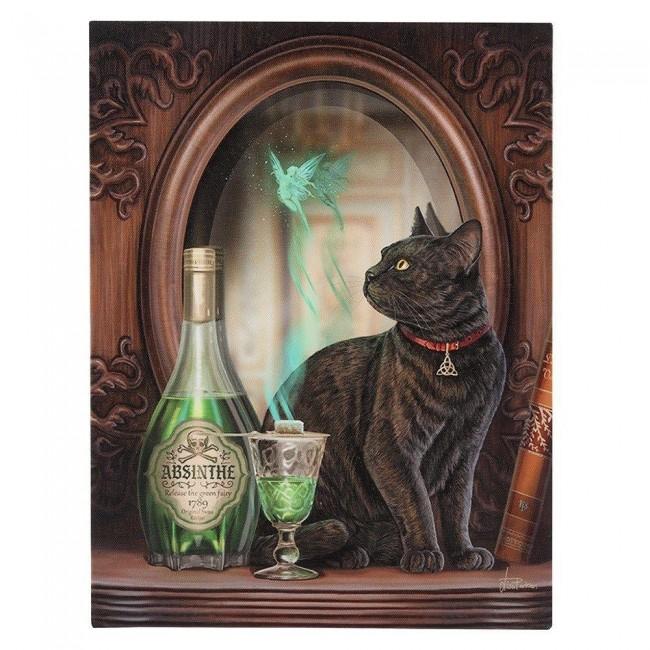 Lisa Parker-Absinthe Canvas