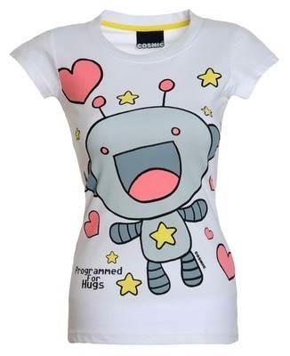 Cosmic Clothing-Programmed For Hugs T-shirt