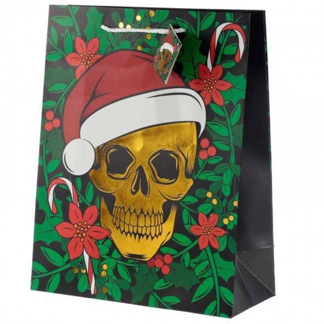 Phoenixx Rising-Christmas Skull Gift Bag L