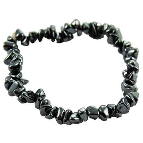 Cleo Gifts-Haematite Stone Bracelet
