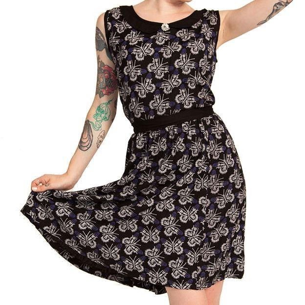 Cold Heart-Boney Butterfly Dress