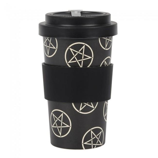 Phoenixx Rising-Pentagram Travel Mug