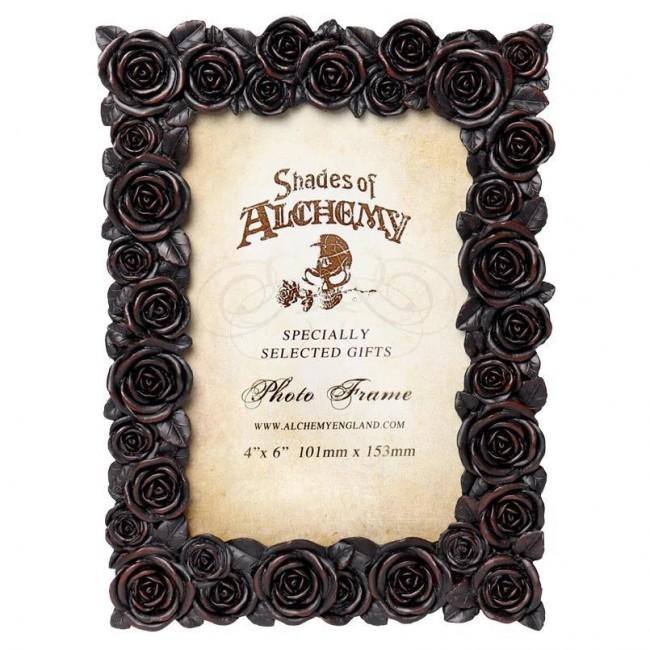 Alchemy Gothic-Rose Black Photo Frame