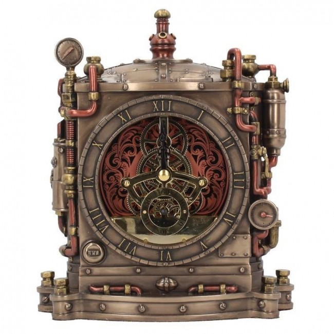 Nemesis Now-Horologist Steampunk Mantel Clock