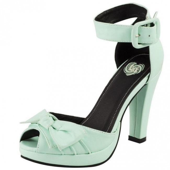 T.U.K. Footwear-Starlet Heels