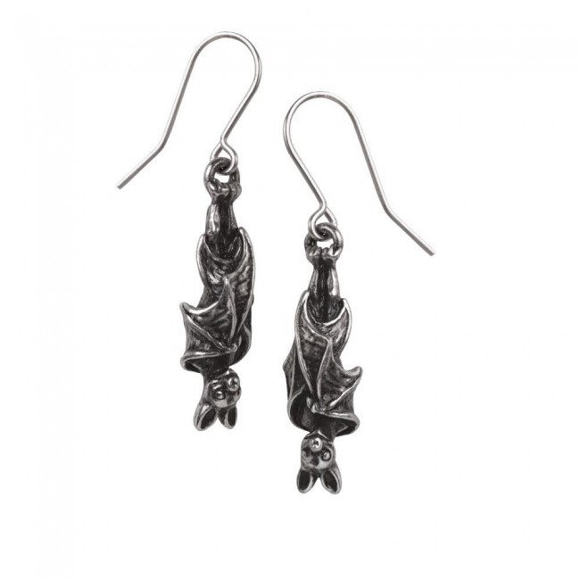 Alchemy Gothic-Awaiting The Eventide Earrings