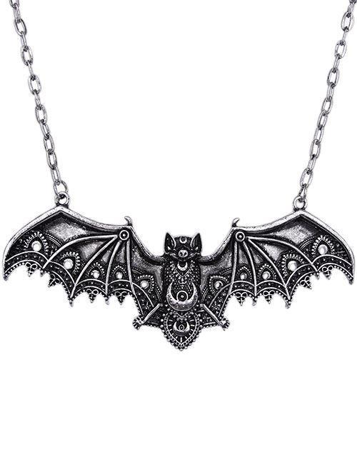 Restyle-Lace Bat Pendant