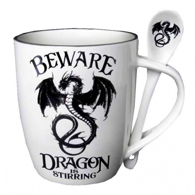 Alchemy Gothic-Dragon Is Stirring Mug Set