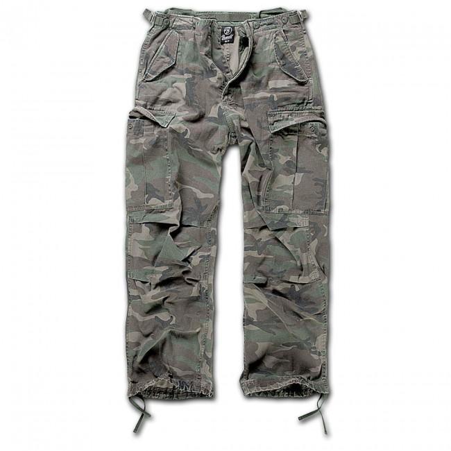 Brandit-Woodland Camo M65 Trouser