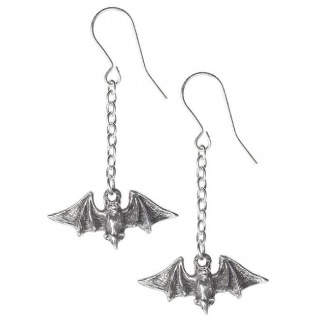 Alchemy Gothic-Kiss The Night Earrings