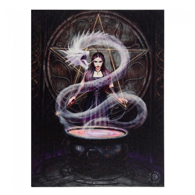 Anne Stokes-The Summoning Canvas