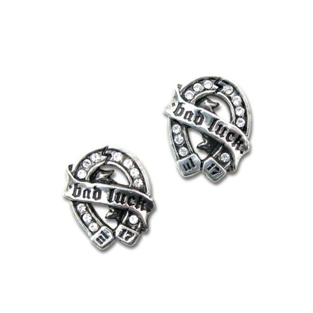 Alchemy Gothic-Bad Luck Ear Studs
