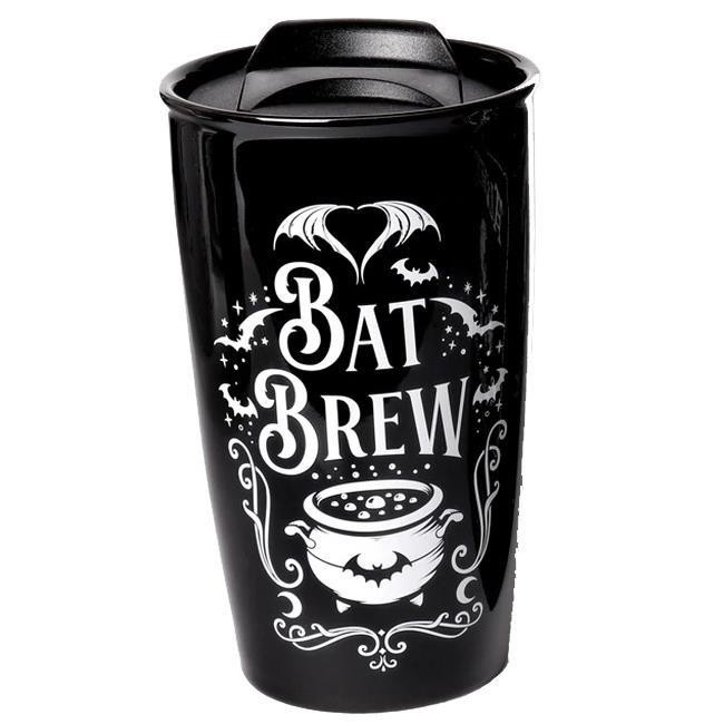 Alchemy Gothic-Bat Brew Travel Mug