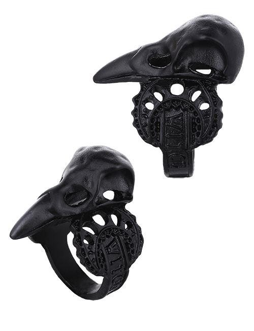 Restyle-Witch Crow Ring