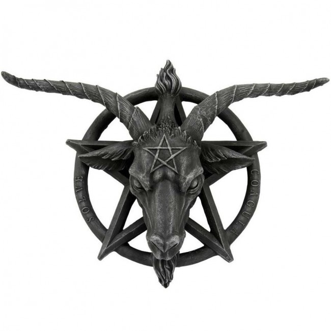 Nemesis Now-Baphomet Wall Plaque