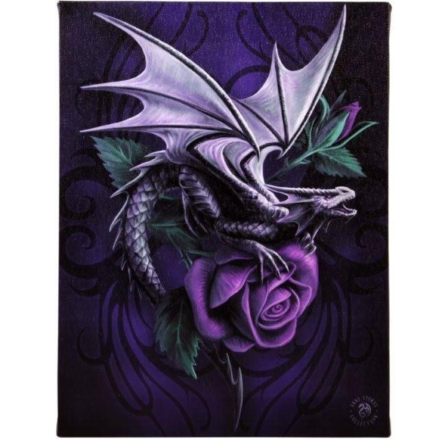 Anne Stokes-Dragon Beauty Canvas