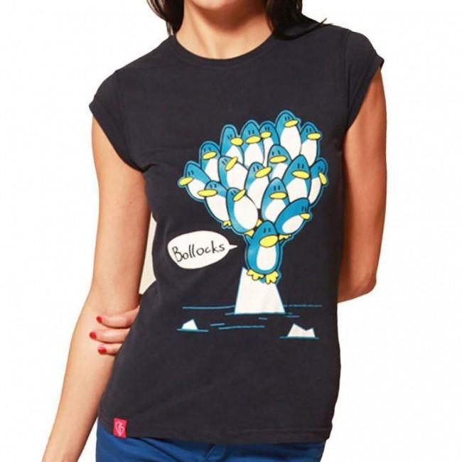 Flip Flop And Fangs-Penguins Bollocks! T-shirt