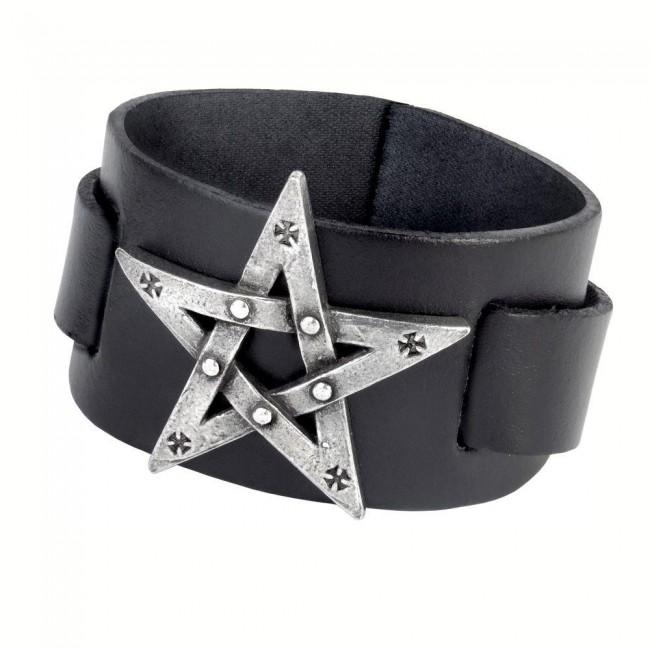 Alchemy Gothic-Pentagration Wrist Cuff