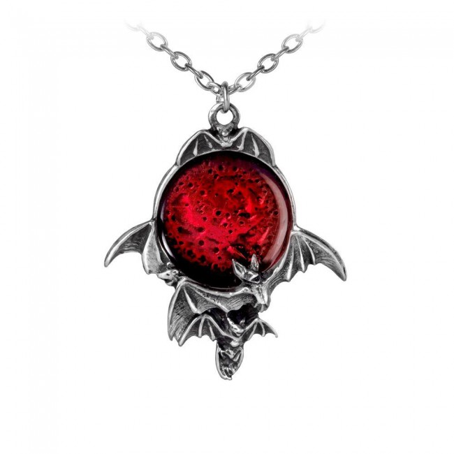 Alchemy Gothic-Blood Moon Pendant
