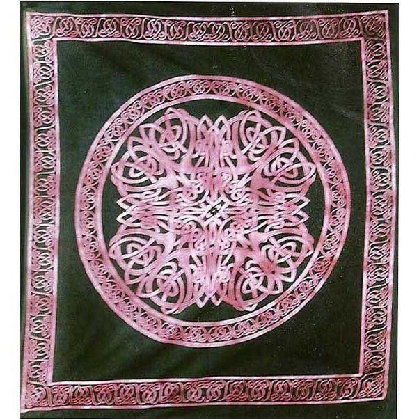 Cleo Gifts-Celtic Mandala Double Bedspread