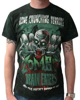 Darkside Clothing-Zombie Brain Eaters T-shirt